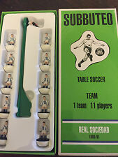 Subbuteo Legends / Leggenda Vintage Team - Real Sociedad 1980/81
