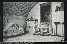 548.-MADRID -El Escorial - Panteón del Duque de Montpensier (C.,A. y L.)