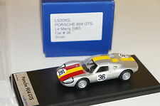 LOOKSMART PORSCHE 904 GTS #36 LE MANS 1965 SILVER 1/43