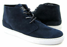 Crooks & Castles Shoes Apache Mid Suede Casual Navy Blue Sneakers Size 13