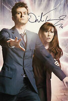 David Tennant Hand Signed Doctor Who 12x8 Photo 1.