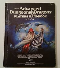 Official Advanced Dungeons & Dragons Player's Handbook AD&D TSR Wizard