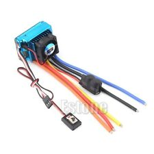 Hot 120A ESC Sensored Brushless Speed Controller For 1/8 1/10 Car/Truck Crawler