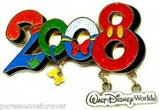 WDW 2008 Dated Collection: Character Numbers Pin (NOC)