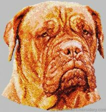 Large Embroidered Zippered Tote - Dogue de Bordeaux DLE1521