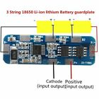 3S 6A Li-ion Lithium Battery 18650 Charger batteries Protection Board 12.6v