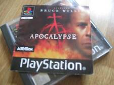 Apocalypse PS1 Sony PlayStation Game with Instructions