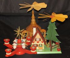 Carousel Windmill Candle Fan Collection Made in Germany