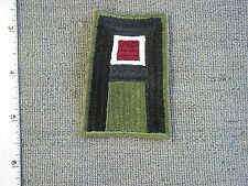 Early WWII 1st U. S. Army Medical Branch patch from NS Myers Library, new cond.