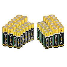 24pcs AAA & 24pcs AA Alkaline Batteries Gaoneng 1.5V Bulk Single Use Batteries