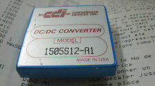 CDi Martek Power Model:1505S12-A1  DC/DC CONVERTER 15W  used        1pcs