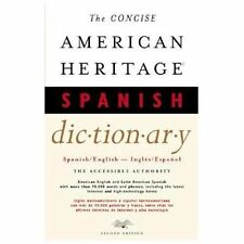 The Concise American Heritage Spanish Dictionary: Spanish/English - In-ExLibrary