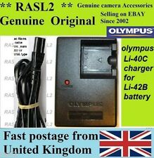 Genuine Original Olympus Charger Li-40C Li-42b Tough 3000 TG-310 TG-320 770sw