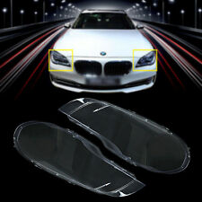 Pair Lens Lampcover Headlight Cover Lampshade Bright For BMW 07-2012 X5 E70