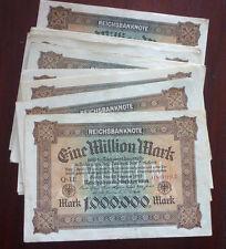 Lot von 50 x Rosenberg Nr. 85, 1 Mio. Mark 1923