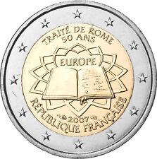 Pièce commémorative de France 2007 ( Traité de Rome )