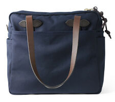 NEW! 2017 FILSON TOTE BAG WITH ZIPPER - NAVY #70261 EXPEDITED SHIPPING!!