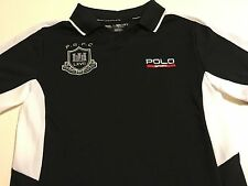 NEW Nwt Polo Ralph Lauren Boys Polo Black S/S Shirt Size Large (14-16) BTS