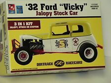 AMT #21710P 1/25 1932 FORD VICKY JALOPY STOCK CAR OPEN/SI