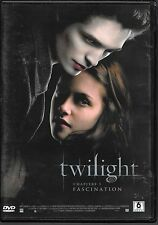 DVD ZONE 2--TWILIGHT - CHAPITRE 1 / FASCINATION--PATTINSON/STEWART