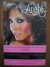 ANAHI from RBD Rebelde PROMO POSTER CARDBOARD for Mi Delirio CD Rare