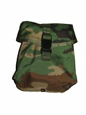 USGI MILITARY WOODLAND CAMO MOLLE 200 ROUND SAW AMMO UTILITY GP PURPOSE POUCH