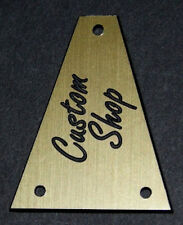 GUITAR TRUSS ROD COVER - Custom Engraved - Fits JACKSON - CUSTOM SHOP - GOLD