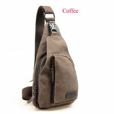 Cool Men Women  Retro Vintage Canvas Backpack Shoulder Cross Body Bag Purse