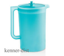 Tupperware 1-Gallon Sheer Pitcher in Tropical Water Blue - New in Packaging!