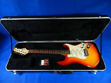 G&L USA Comanche Cherry Sunburst Electric Guitar With Case | Free Shipping!