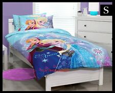 SINGLE BED DISNEY FROZEN Licensed GIRLS GIFT QUILT DOONA COVER SET & PILLOWCASE