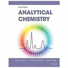 Analytical Chemistry by Christian 7Edition FREE SHIPPING