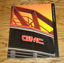 Original 1998 GMC Light Commercial Sales Brochure 98 Sierra Jimmy Sonoma