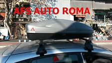 BOX AUTO PORTATUTTO G3 ALL TIME 320+BARRE PORTATUTTO FORD FIESTA 5 P.2010 OMOL.