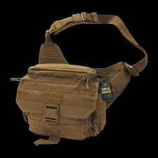 Tactical Military Shoulder Messenger Bag MOLLE Padded Coyote Rapdom T311