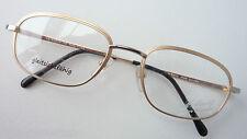 St. Moritz Luxus-Titanbrille bicolor breiter Metallrand leicht GR:L 53-20 Marke