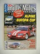 MILLE MILES n°49 ALPINE EUROPA CUP-RENAULT SPIDER 255 ch-ACHETER UNE GTA-A 110