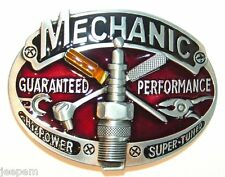 Garage Car Mechanic Tools Belt Buckle to fix to own belt Guaranteed to perform
