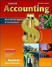 Glencoe Accounting: First Year Course, Student Edition (GUERRIERI: HS ACCTG), Mc