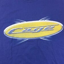 Christian Cage Where My Peeps At? Tna Wrestling Xl Blue T Shirt Wwe Wcw Wwf Edge