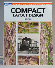 KALMBACH COMPACT LAYOUT DESIGN BOOK by Iain Rice train o gauge lionel 12487 NEW