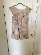 Cabbages & Roses Floral Button Back Dress, Size 12, WORN ONCE