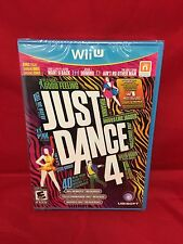 Just Dance 4 Brand New Sealed For Nintendo WII U  FREE SHIPPING
