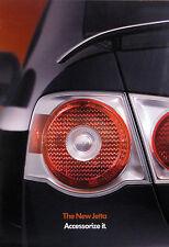 2005 Volkswagen Jetta sedan fold-out accessories brochure