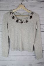 Cute Light Spring Sweater with beads fluffs from Korea H&M Abercrombie