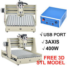 USB 3 Axis 3040 CNC Router Engraver Milling Machine Engraving Drilling Desktop/