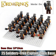 26pcs The Lord of the Rings Hobbit Mordor ORC Troopers Minifigures DIY Toys Gift