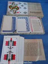 221655 Kartenkunststücke für Jung und Alt 1951 4 gezinkte Kartenspiele Zaubern