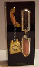 Nostalgic Hour Glass (1 Minute) With old style phone design Vintage Antique