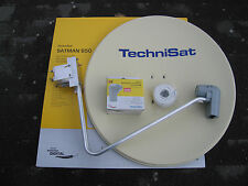 TechniSat SATMAN 850 Plus, 6085/8980,mit UNYSAT Quatro-Switch-LNB, beige, neu
